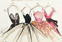 Fabulous Fashion Illustrations / Totally fabulous fashion illustrations!