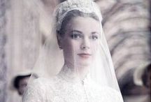 Grace Kelly - The Wedding of the Century / Grace Patricia Kelly became Her Serene Highness Princess Grace of Monaco when she married Prince Rainier III of Monaco in what reporters called The Wedding of the Century. Look back at the extravagant day & incorporate Grace's classic style into your own wedding.