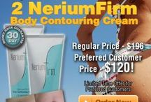 Nerium Firm / NeriumFirm is a skin-tightening cream developed from the patented NAE-8 extract of the Nerium oleander plant. Its powerful antioxidant formulation has been clinically proven to reduce the appearance of cellulite and dimpling and to help smooth, tighten and firm the appearance of loose skin. NeriumFirm also helps restore the appearance of youthful contour, tone and texture. bit.ly/neriumfirm / by Natural Gumption