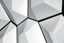 Geometric Design, Modern Art / Items with geometric shapes, texture. Modern geometric art and design.