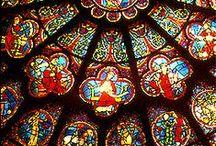 Beautiful Stained Glass / by Gerri Glackin Lambert