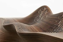 CURVED FORM in wood / Wooden curves of every kind  / by Jody Koomen