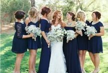 Navy Wedding Ideas / Classy and oh so elegant, be inspired by our navy wedding ideas