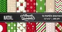 Christmas by Nilmara Quintela / My designs