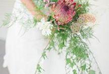 Floral Romance - Cascading Wedding Bouquets / Embrace the romance of beautiful cascading wedding bouquets