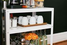 Decor - Drink Stations / Ideas for a drink station - coffee, tea, hot chocolate