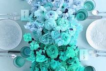March's Aquamarine - Birthstone Wedding Inspiration / Embrace the freshness and beauty of aquamarine for your wedding theme