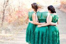 May's Emerald - Birthstone Wedding Ideas / Jewel tone wedding inspiration with rich tones of the beautiful emerald
