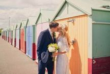 A Quintessential Seaside Wedding / We all love to be beside the seaside! Let's explore inspiration for a British seaside wedding.