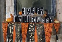 Halloween Mantels / by Chellie Hailes