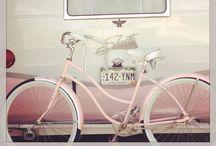 Caravans & bicycles / Wagons, caravans, bycicles