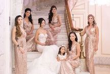 Rose Gold Wedding Ideas / Feminine and delicate rose gold can create the most beautiful wedding day theme