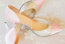 Pink & Gold Wedding Ideas / The epitome of beauty for a wedding theme - pink and gold tones ooze romance and luxury