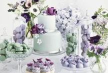Mint Green & Lilac Wedding Ideas / A stunning colour combination - mint green and lilac creates a fresh, pretty and captivating wedding theme.