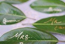 Pantone 2017 - Greenery - Wedding Ideas