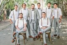 Don't Forget the Groom / Stylish ideas for the all important Groom