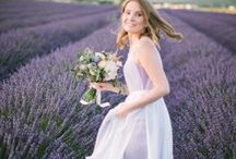 Lovely Lavender Wedding Ideas / With its beautiful hue and scent a lavender wedding is simply divine!