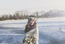 Winter shoot / Winterse fotoshoot, bloemenkrans, vintage