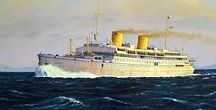 History: Classic ocean liners / Images of mighty ocean liners from the first part of the 21st century.