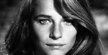 Charlotte Rampling (1946- ) / Tessa Charlotte Rampling, OBE (born 5 February 1946) is an English actress, model and chanteuse, known for her work in European arthouse films in three languages, English, French, and Italian. An icon of the Swinging Sixties, she began her career as a model and later became a fashion icon and muse.