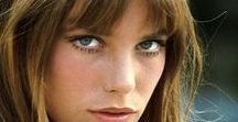 Icon: Jane Birkin - (1946- ) / Jane Mallory Birkin, OBE (born 14 December 1946) is an English actress, singer, and songwriter based in France. She is best known for her relationship and musical partnership with Serge Gainsbourg in the 1970s and being the namesake of the popular Hermès Birkin bag. In recent years she has written her own album and directed a film.