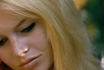 Icon: Brigitte Bardot (1934- ) / Brigitte Anne-Marie Bardot; (born 28 September 1934) is a French actress, singer and fashion model, who later became an animal rights activist. She was one of the best known sex symbols of the 1950s and 1960s. Bardot was an aspiring ballerina in her early life. She started her acting career in 1952. After appearing in 16 routine comedy films that had limited international release, she became world-famous in 1957 after starring in the controversial film And God Created Woman.
