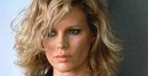 """Icon: Kim Basinger (1953- ) / Kimila Ann """"Kim"""" Basinger; born December 8, 1953) is an American actress, singer and former fashion model. Following a successful modeling career in New York during the 1970s, Basinger moved to Los Angeles where she began her acting career on television in 1976, before making her feature debut in the 1981 drama Hard Country. She won the Academy Award for Best Supporting Actress for her performance as Lynn Bracken in the 1997 film L.A. Confidential."""