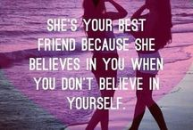 Best friend insta's, quotes