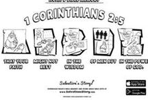 Bible Memory Verses Coloring Pages / 28 Inspirational Bible Coloring pages featuring Noah, his sons, and his animal friends. These Bible verses make for a great Sunday School game and craft. Once the artist has finished coloring, test them with the testing page!