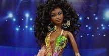 Barbie and Dolls - Black