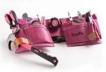Pinke missfixx Werkzeuge