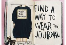 WTJ / Wreck this journal! Just, do it!