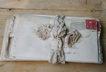 Old letters and post cards
