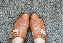 trading my old shoes for new feet / I sell shoes. / by hannah tribley
