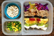 F o o d - K i d s  L u n c h e s / lunch boxes, lunch ideas for kids, picnic ideas, and food art. / by Terri G