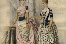 Bustle Era 1870-1889 / by Jennifer Rosbrugh