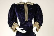 Edwardian & 19-Teens / Costumes, garments, fashion plates & advertisements from 1900 to 1919