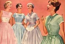 1920s to 1950s Fashion / by Jennifer Rosbrugh