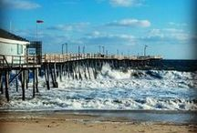 Outer Banks Piers / There are many fantastic Outer Banks piers to fish, play and have fun! / by Seaside Vacations Outer Banks