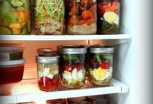 F o o d : Make-Ahead & Canning / Crockpot, Casserole, slow cooker, mason jars and freezer meals. / by Terri G