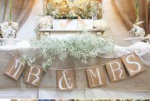 wedding & reception ideas
