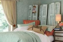 Bedroom Ideas / Ideas for decorating the Master bedroom or any spare bedrooms. / by Elaina Smith