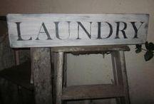 Laundry Room Ideas & Decor / by Elaina Smith