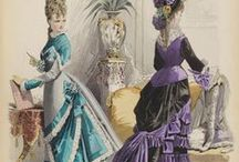 Victorian Bustle Day Dresses