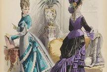 Victorian Bustle Day Dresses / by Jennifer Rosbrugh