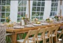 Wooden Furniture / Rain or Shine's Wide Selection of Wooden Furniture to complete your Rustic Vermont Wedding!