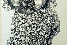 21- Lines / by Katayoon Moghaddam- Soroush