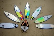 Surfboard Quivers