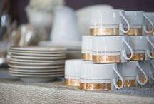 Gold Rimmed Dishware