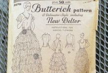 Sewing Patterns / by Jennifer Rosbrugh